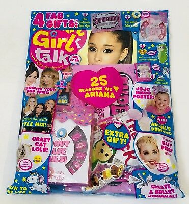 Girl Talk Magazine #608 With AMAZING FREE GIFTS!! (NEW)
