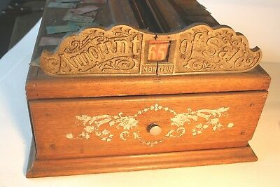 Antique Cash Register 1-A Monitor from the very start of Cash Registers in 1890s