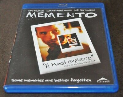 Memento (Blu-ray, 2010, Region A, English only)