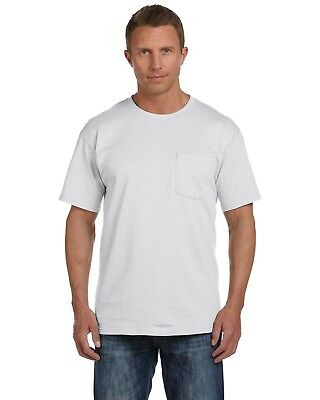 Fruit of the Loom Mens Heavy Cotton HD Pocket T-Shirt 3931P (2 PACK) All Sizes