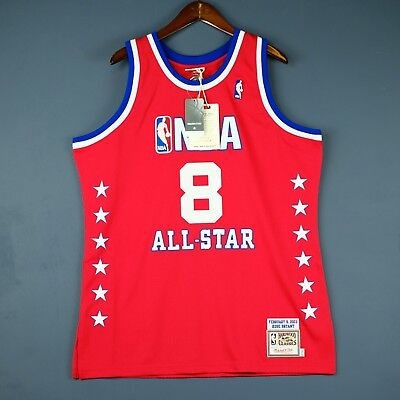 24034acf516 100% Authentic Kobe Bryant Mitchell Ness 2003 All Star Jersey Mens Size 48  XL