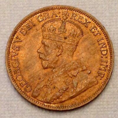 Canada 1918 George V One 1 Large Cent