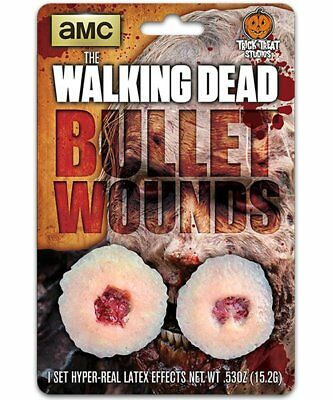 The Walking Dead Bullet Wound Appliance