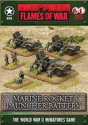 Flames of War Marine Rocket Launcher Battery