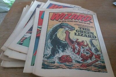15 Wizard Comics 1977