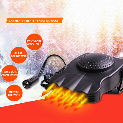 Electric Portable 150W DC 12V Defroster Window Windscreen Demister Car