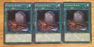 3 X Ldk2-Enj29 Foolish Burial 1St Ed Mint Playset
