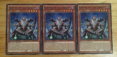 3 X Ldk2-Enj22 Keeper Of The Shrine 1St Ed Mint Playset