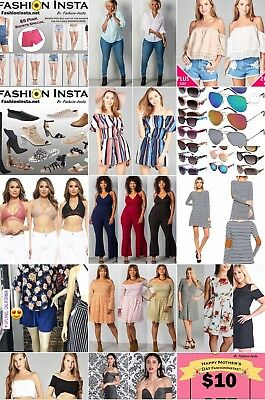 Fashion Store Retail And Website Business For Sale - Currently Open And Working