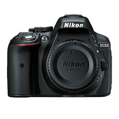 Nikon D5300 24.2 MP CMOS Digital SLR Camera w/ Built-in Wi-Fi & GPS - Body Black