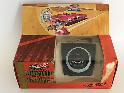 Vintage Dixco Hustler Professional Illuminated Gauge  Model 811 Nos