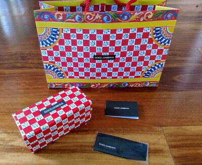 5488508abc62 AUTHENTIC DOLCE   Gabbana designer Summer box