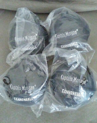 4 Captain Morgan Cannonball Limited Promotional Cold Drink Container Cup New