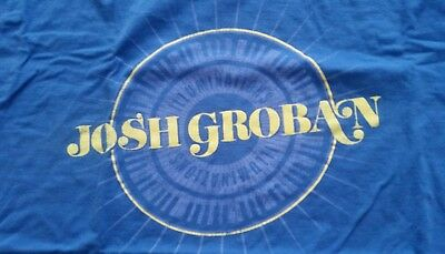 Josh Groban / Illuminations (T-Shirt, Blue, Xl, Unisex)