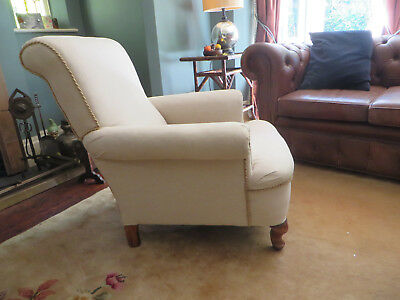 Howard and Sons Style Edwardian Armchair