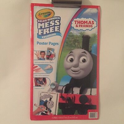 Crayola Color Wonder Mess Free Poster Size Thomas The Train