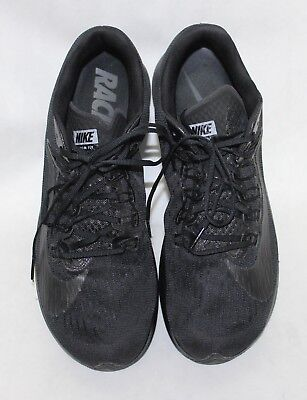 c73e65a53e7f Nike Men s Zoom Fly Triple Black Anthracite Running Shoes 880848-003 Sz11  No BOX