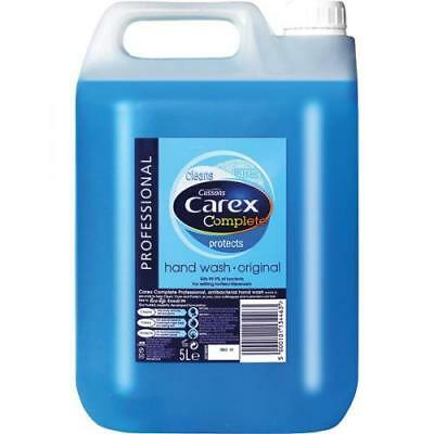 Carex Original Professional Anti Bacterial Liquid Hand Soap Wash 5 L FREE P&P