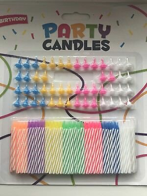 Wholesale Job Lots Joblot 12 Packs Of 24 Birthday Candles With Holders