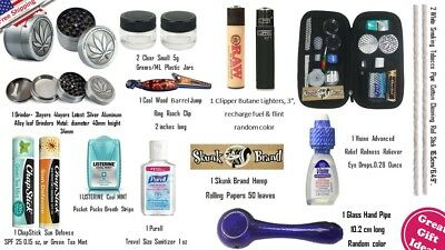 Happy Weed  Stoners Kit-  Medical Cannabis Carrying Case and Accessories
