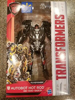 Transformers The Last Knight Deluxe Autobot Hot Rod  Class Walmart Exclus. NIB