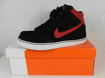 outlet store b6e12 dac15 Mens Nike Dunk High LR 6.0 Shoes 487924 061 Blk Red Size 13