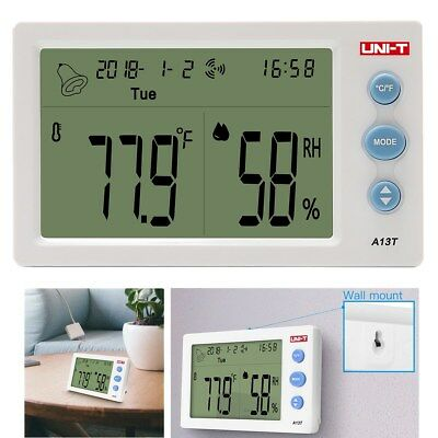 UNI-T Digital Indoor Outdoor Hygrometer Thermometer Temperature Humidity Monitor