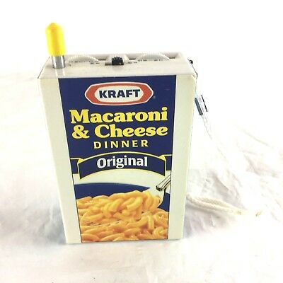 Kraft Mac Macaroni and Cheese Novelty RADIO - Original - Dinomac - AM FM