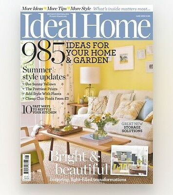 Ideal Home Magazine June 2016 (BRAND NEW BACK ISSUE)