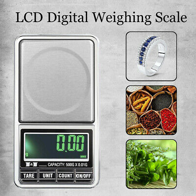 20/50G 0.001G Mini Digital LCD Jewellery Weighing Pocket Scales Battery Powered