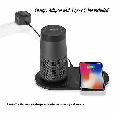 AU Cradle Dock Charger Speaker Phone Charging For B0se SoundLink Revolve+
