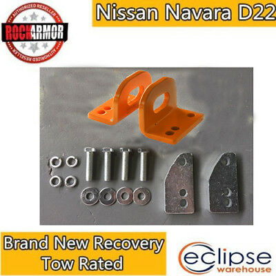 Brand New Recovery Towing Rated Point Pair For Nissan Navara D22