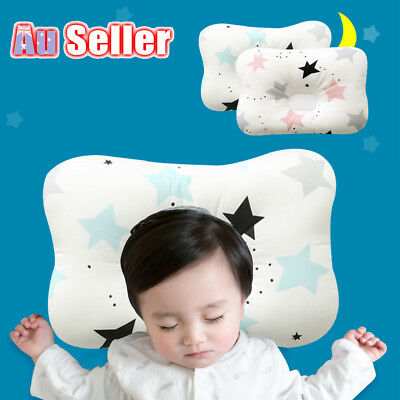 Baby Infant Newborn Prevent Square Pillow Flat Head Neck Syndrome Support