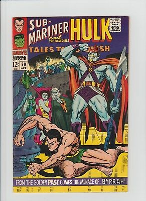 Tales to Astonish #90 (Apr 1967, Marvel) VF/NM (9.0) 1st. App. of Abomination !!