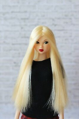 Blond Long for J-doll, Momoko, Obitsu 3.5-4 inch