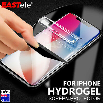 EASTele HYDROGEL AQUA Screen Protector Apple iPhone 11 Pro XS Max XR 8 7 6s Plus
