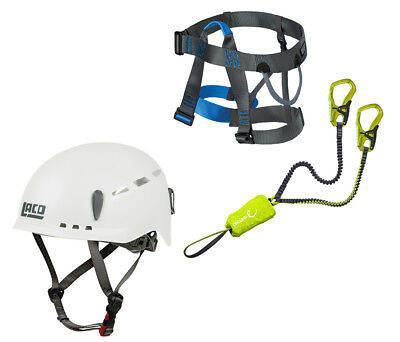 Edelrid Cable Kit 5.0 Klettersteigset + LACD Harness Easy 2.0+LACD Protector 2.0
