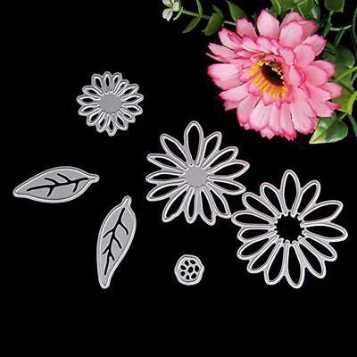 Petal Cutting Dies Stencil DIY Scrapbooking Cards For Embossing Template Craft