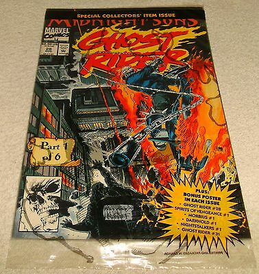 Marvel Comics Ghost Rider 1992 # 28 Vf+/nm Polybagged