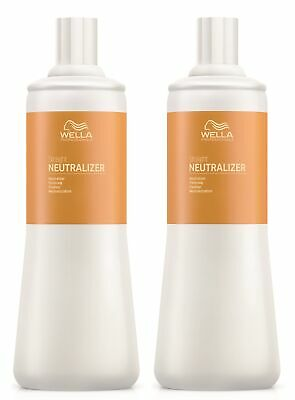 2x Wella Professionals Straight Neutralizer Fixierung 1000 ml