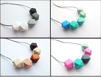 Teething necklace Nursing Necklace Teething Jewellery BPA free New Mum Necklace