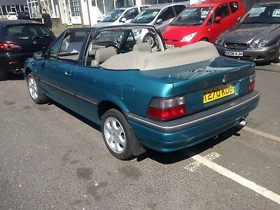 1999 Rover 216 Cabriolet 1.6 43,922 Miles S/h  Fantastic Cond Reduced To £1995