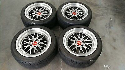 BBS LM 17 x 9 +20 5x114.3 with Goodyear Ravspec RS02Tyres
