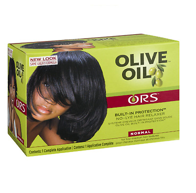 ORS Organic Roots Stimulator Olive Oil Hair Relaxer No Lye - NORMAL * Uk SELLER