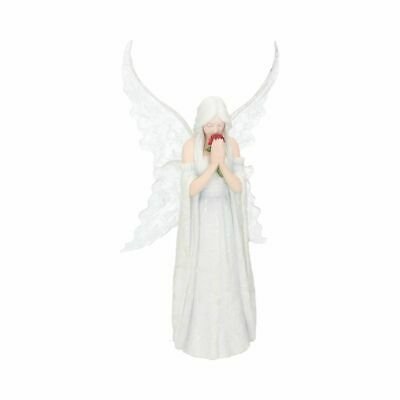 Only Love Remains 26cm Nemesis Now Anne Stokes Angel Fairy Rose Maiden Memorial