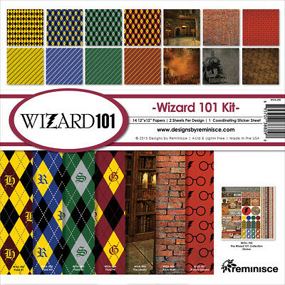 "Reminisce WIZA200  Collection Kit 12""X12""-Wizard"