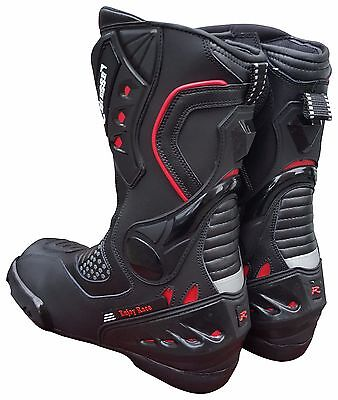 Boots for motorcycle WITH ANTITORSION Racing 39 40 41 42 43 44 45 46.47