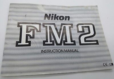 Original NIKON FM2 Instruction Manual