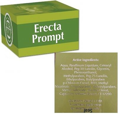 Male Erecta Prompt Cream Erection Enhancer Get A Hard On Fast Sex Aid Cream 50mg