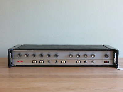 Vintage 1975 HH Electronic IC100 Head punk rock relic 100watt serviced & tested